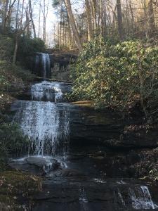 De Soto Falls in Winter - God's majestic creation
